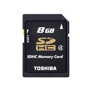 Toshiba High Speed M102 - tarjeta de memoria flash - 8 GB - microSDHC